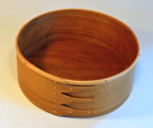 Keith Shorrock - Crown Box in Cherry with Ash Rim (23 x 8cm): £65