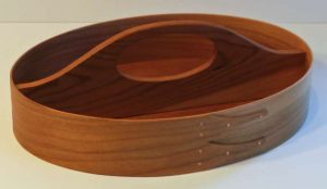 Keith Shorrock - Traditional Shaker Tray in Cherry (32 x 23 x 6cm): £75