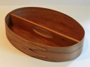Keith Shorrock - Traditional Shaker Tray in Cherry with flush handle (32 x 23 x 6cm): £75