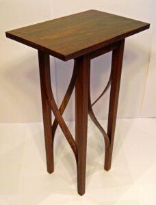 Keith Shorrock - Black Walnut Gin and Tonic table