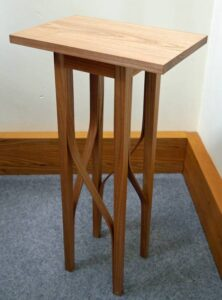 Keith Shorrock - Elm Gin and Tonic table